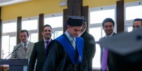 Un instante de la graduación de los alumnos de 2º de bachillerato del MIT / Juan Ignacio Ponce