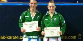 Antonio García Varga y Margarita Morata, campeón de España y campeona de España y Europa respectivamente