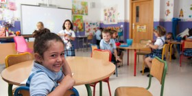 Niños de preescolar en el colegio MIT / Jose González