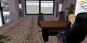 A business environment in Second Life