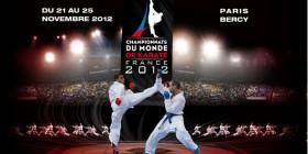 Cartel del Campeonato del Mundo de Kárate 2012