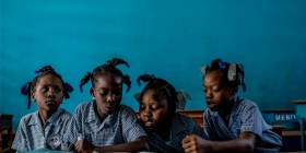 DOCUMENTAL HAITI, TIERRA DE ESPERANZA EN COLEGIO MIT
