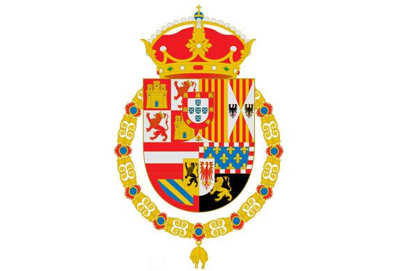 Escudo reyes de España Felipe Letizia