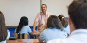Clase de alemanán en MIT School Málaga