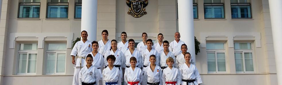 La Selección Española de Kárate ha entrenado en MIT School
