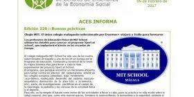 MIT PARTICIPA EN EL PROGRAMA ERASMUS+ - ACES