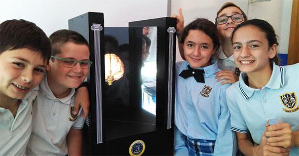 MIT School, primer colegio en España en utilizar hologramas en su práctica docente